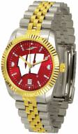 Wisconsin Badgers Executive AnoChrome Men's Watch