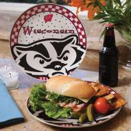 Wisconsin Badgers Gameday Ceramic Plate