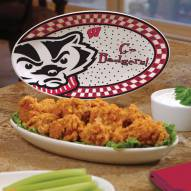 Wisconsin Badgers Gameday Ceramic Platter