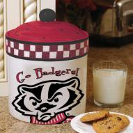 Wisconsin Badgers Gameday Cookie Jar