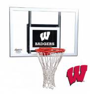 Wisconsin Badgers Goalsetter Junior Wall Mount Basketball Hoop