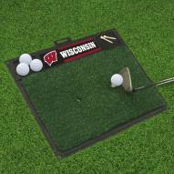 Wisconsin Badgers Golf Hitting Mat