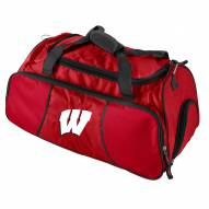 Wisconsin Badgers Gym Duffle Bag