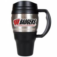 Wisconsin Badgers Heavy Duty Travel Mug