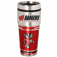 Wisconsin Badgers Hi-Def Travel Tumbler