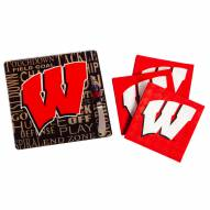 Wisconsin Badgers It's a Party Gift Set