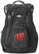 Wisconsin Badgers Laptop Travel Backpack