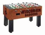Wisconsin Badgers Logo Foosball Table