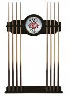 Wisconsin Badgers Logo Pool Cue Rack
