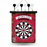 Wisconsin Badgers Magnetic Dart Board