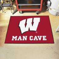 Wisconsin Badgers Man Cave All-Star Rug