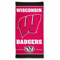 Wisconsin Badgers McArthur Beach Towel
