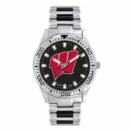 Wisconsin Badgers Men's Heavy Hitter Watch