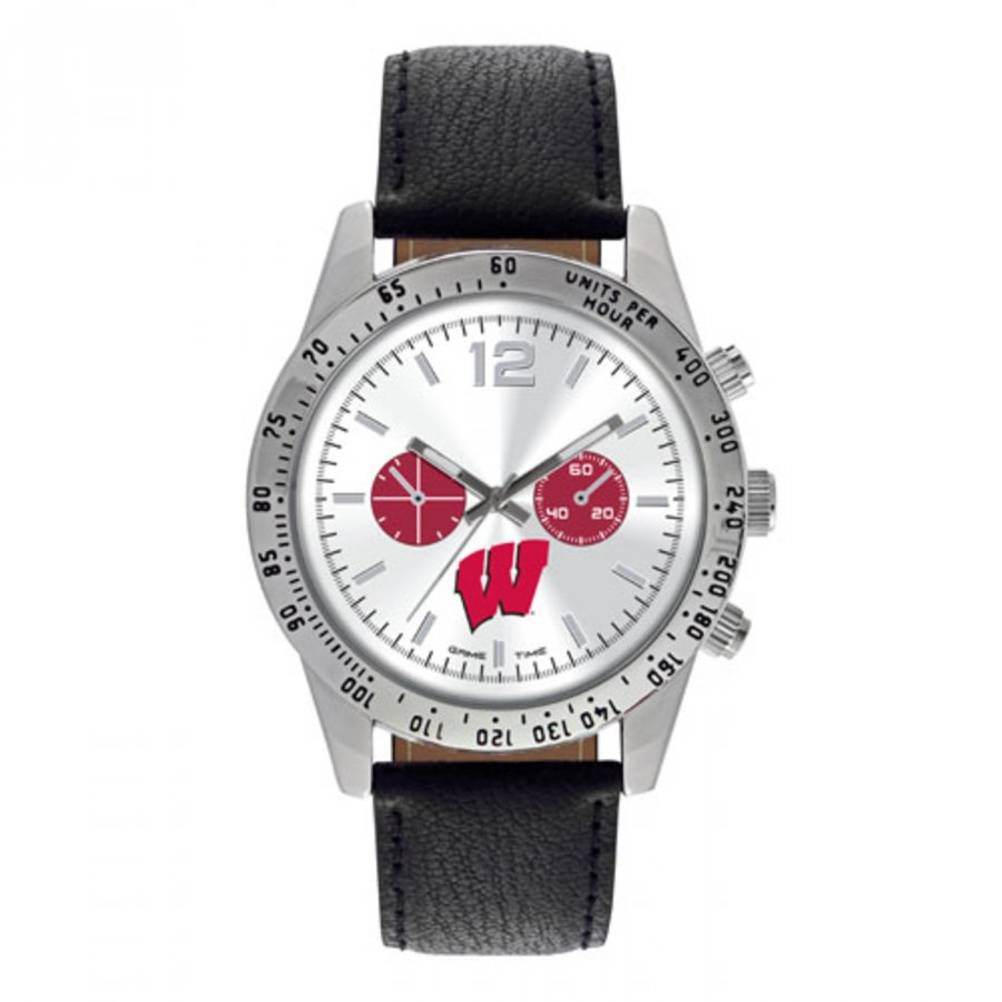 Wisconsin Badgers Men's Letterman Watch