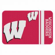 Wisconsin Badgers Bath Mat