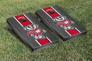 Wisconsin Badgers Onyx Stained Cornhole Game Set
