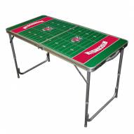 Wisconsin Badgers Outdoor Folding Table
