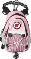 Wisconsin Badgers Pink Mini Day Pack