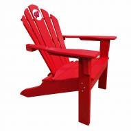Wisconsin Badgers Red Big Daddy Adirondack Chair