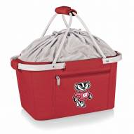 Wisconsin Badgers Red Metro Picnic Basket