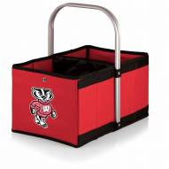 Wisconsin Badgers Red Urban Picnic Basket