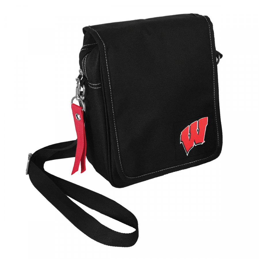 Wisconsin Badgers Ribbon Satchel