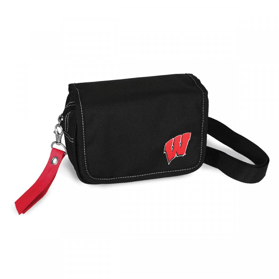 Wisconsin Badgers Ribbon Waist Pack Purse