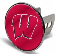Wisconsin Badgers Laser Hitch Cover