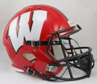 Wisconsin Badgers Riddell Speed Replica Football Helmet