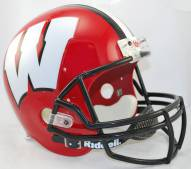 Wisconsin Badgers Riddell VSR4 Replica Full Size Alternate Football Helmet