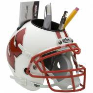 Wisconsin Badgers Schutt Football Helmet Desk Caddy