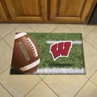 Wisconsin Badgers Scraper Door Mat