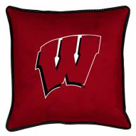 Wisconsin Badgers Sidelines Pillow