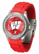 Wisconsin Badgers Sparkle Women's Watch