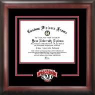 Wisconsin Badgers Spirit Diploma Frame