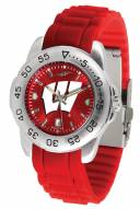 Wisconsin Badgers Sport AC AnoChrome Men's Watch