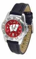 Wisconsin Badgers Sport AnoChrome Women's Watch