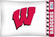Wisconsin Badgers Pillow Case
