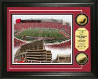 Wisconsin Badgers Stadium 24KT Gold Coin Photomint