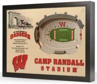 Wisconsin Badgers Stadium View Wall Art