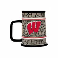 Wisconsin Badgers Stone Stein