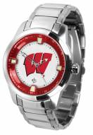 Wisconsin Badgers Titan Steel Men's Watch
