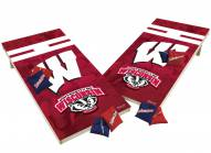 Wisconsin Badgers XL Shields Cornhole Game