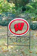 Wisconsin Badgers Yard Sign