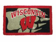Wisconsin Badgers NCAA Welcome Mat