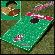 Wisconsin Badgers College Bean Bag Tailgate Toss Game
