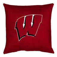 Wisconsin Badgers NCAA Locker Room Toss Pillow