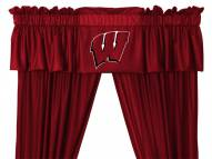 Wisconsin Badgers NCAA Jersey Window Valance