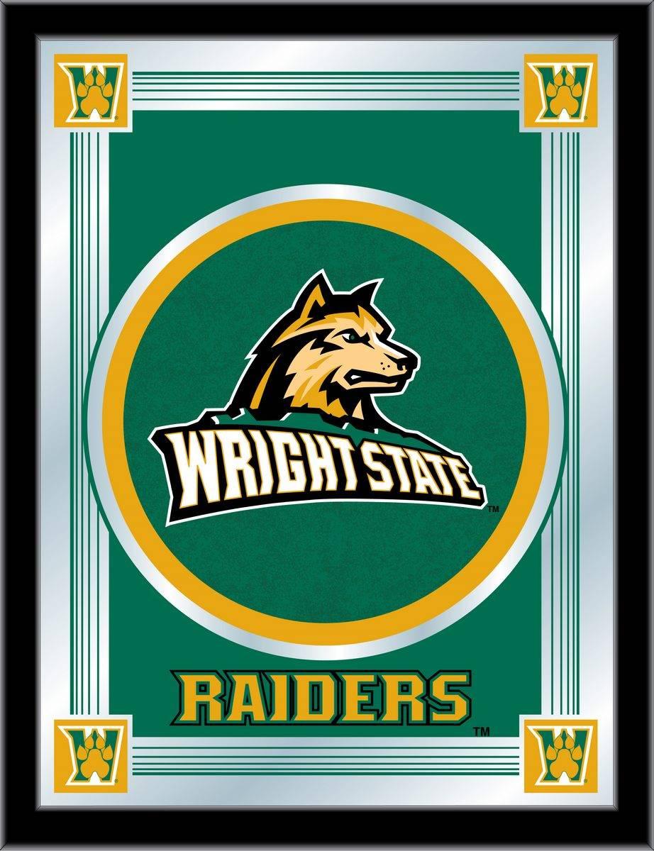 Wright State Raiders Logo Mirror