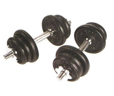 york weights. simple, basic, and exactly what you need to get healthy at home, the york 30 lb cast iron adjustable spinlock dumbbell set is an excellent addition your weights b